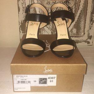 "Brand new Christian Louboutin ""Sova"" heel, size 39"